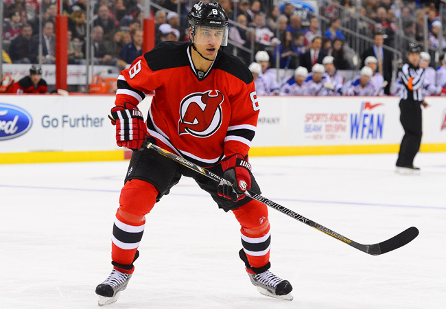 Dainius Zubrus averaged over 18 minutes on the ice in nine games this season.