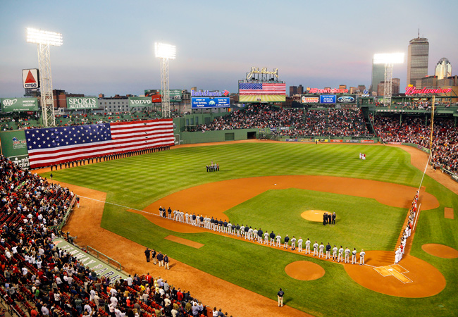 The last time the Red Sox failed to sell out Fenway Park was May 14, 2003 against the Rangers.