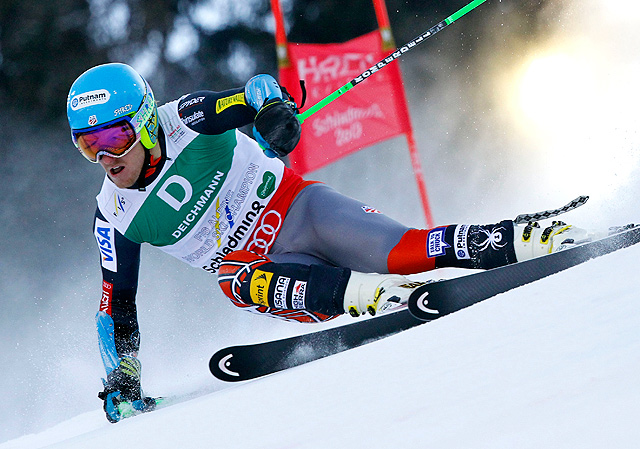 Ted Ligety obliterated the field in the men's giant slalom at the world championships to secure his third worlds gold medal.