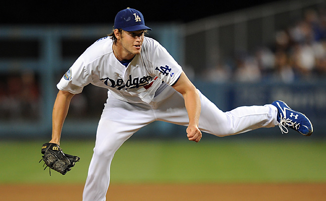 Clayton Kershaw will take the mound on April 1 against the Giants at Dodger Stadium.