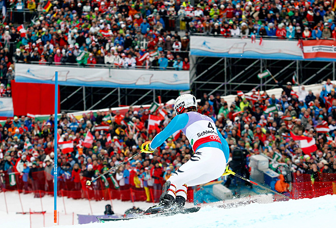 The U.S. will host the next skiing world championships in Vail-Beaver Creek, Colo. in 2015.
