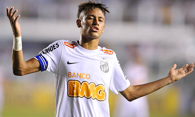 Neymar and Santos are in eighth place in the Brazilian league.