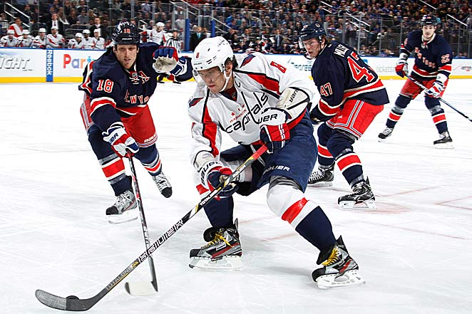 Off Broadway: Alex Ovechkin clearly wasn't on his old dynamic game during a recent visit to New York.