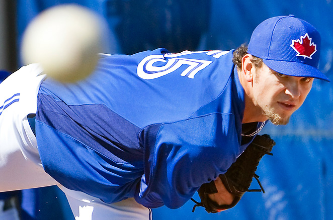 Toronto acquired Josh Johnson in a trade with Miami, but the power righty might struggle in the AL.