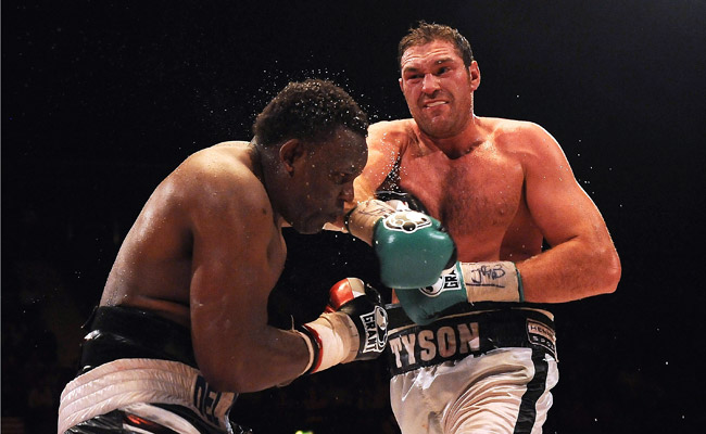 "Tyson Fury calls his upcoming fight at Madison Square Garden ""the pinnacle of my career so far."""