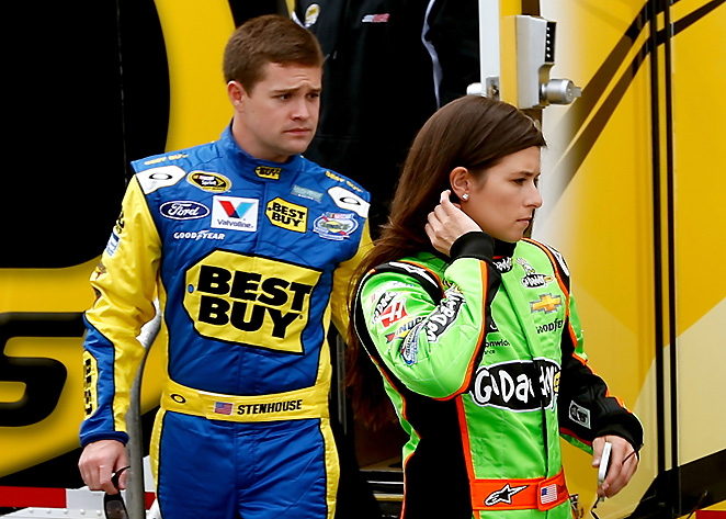 Ricky Stenhouse Jr. hopes the focus will shift off of him and Danica Patrick once the racing season is underway.
