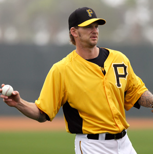 A.J. Burnett was 16-10 with a 3.51 ERA for the Pirates last season.