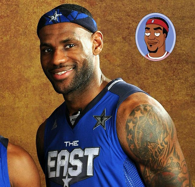 """Episode: A Short Story and a Tall Tale First aired: Feb. 13, 2011 <underline>Memorable Moment</underline> <italics>LeBron sits with Kevin Garnett and Shaquille O'Neal during a break in action at the NBA All-Star game.</italics> <bold>LeBron</bold>: """"Anybody else tired of always havin' to dribble the ball whenever you want to move?"""" <bold>Garnett</bold>: """"Man, I hate dribbling."""" <bold>Shaq</bold>: """"And it can't be good for the floor."""" <bold>LeBron</bold>: """"Shaq's right. Hey, if we all get together and say we're not gonna dribble anymore, what are they gonna do?"""""""