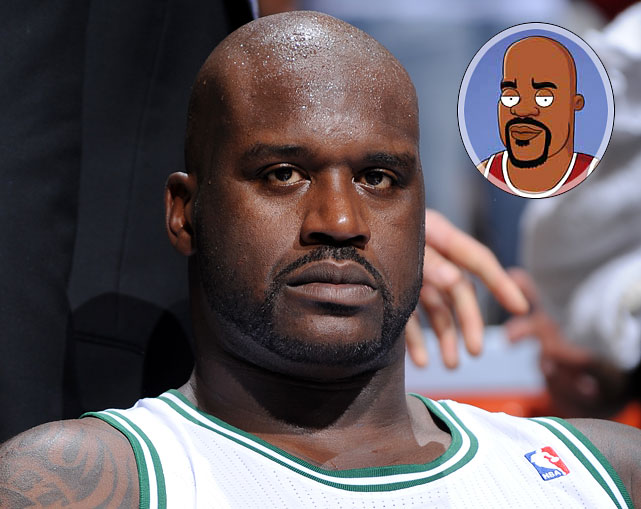 """Episode: A Short Story and a Tall Tale First aired: Feb. 13, 2011 <underline>Memorable Moment</underline> <italics>Shaq sits with Kevin Garnett and LeBron James during a break in action at the NBA All-Star game.</italics> <bold>Shaq</bold>: """"And why can't we play in the morning, and then just get on with our day? I have a garden. Flowers, tomatoes, nectarines."""""""