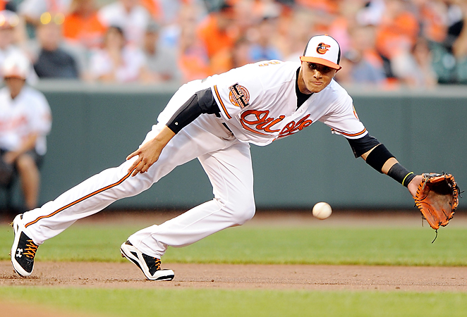 At age 20, Manny Machado hit .289 with four homers and 16 RBI last September for the Orioles.