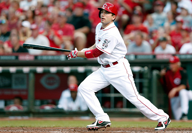 Joey Votto, who had knee surgery last summer, was included on Team Canada's final 28-man roster.