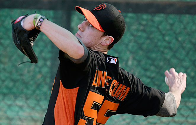 Tim Lincecum cut his hair in the offseason and is hoping to rebound from the worst year of his career.
