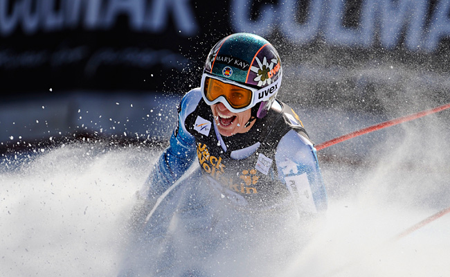 Carolina Ruiz Castillo beat Maria Hoefl-Riesch by 0.20 seconds and Marie Marchand-Arvier by 0.21.