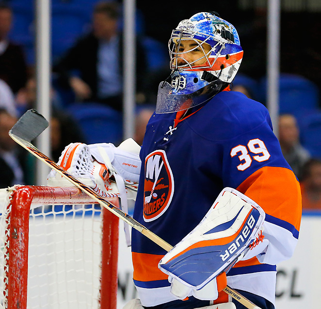 With eight years left on his enormous contract, former top pick Rick DiPietro will report to the minors.