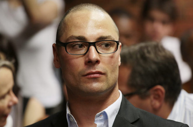 Carl Pistorius was involved in a car accident in 2008 that killed a woman on a motorcycle.