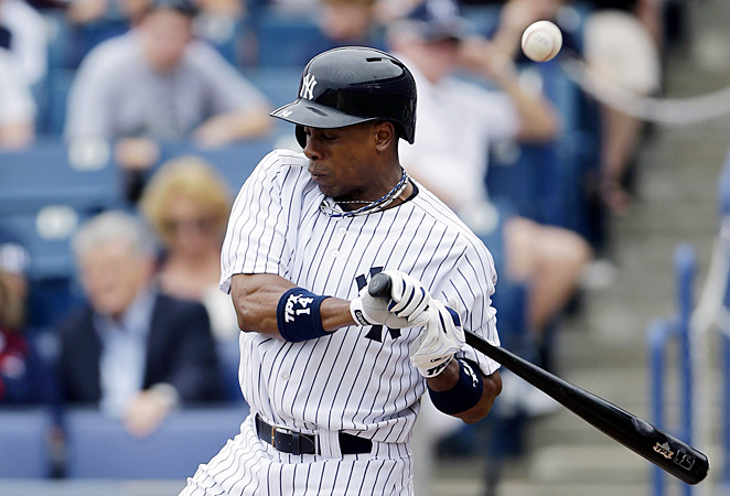 Curtis Granderson was added to the 15-day disabled list by the New York Yankees on Friday.
