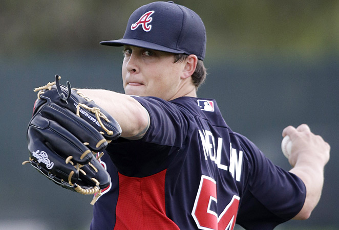 Kris Medlen won 10 of the 12 games he started in 2012 and struck out 120 batters in 138 innings.