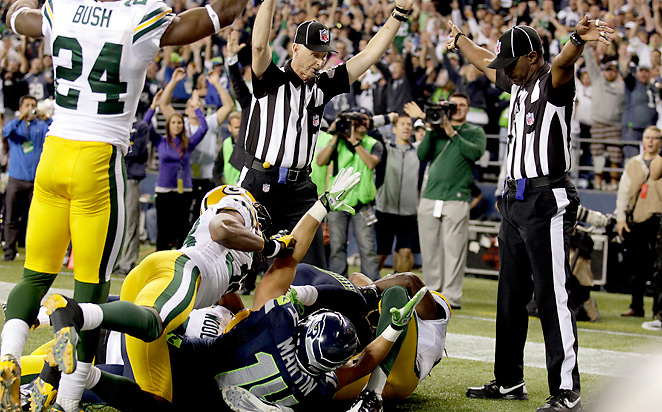 Golden Tate's controversial TD played a big part in Seattle's season, but the team needs more from its WRs.