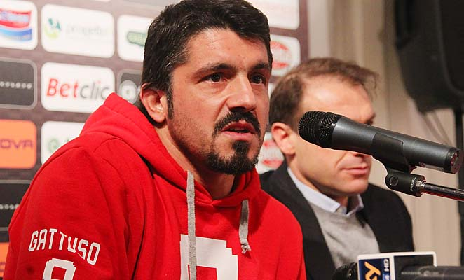 "Gennaro Gattuso earned the nickname ""Snarling Dog"" during his time in Italy."