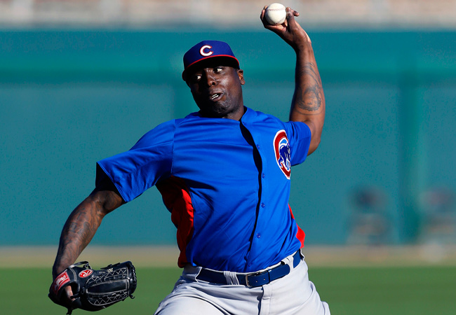 Dontrelle Willis is attempting a comeback with the Cubs after retiring in July 2012.