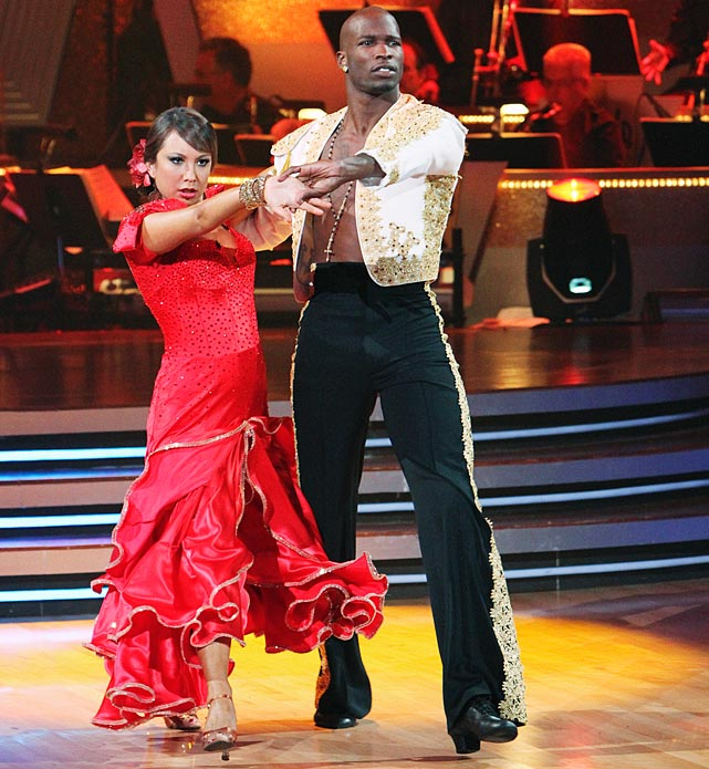 The NFL wide receiver finished in 4th place with dancing partner Cheryl Burke.