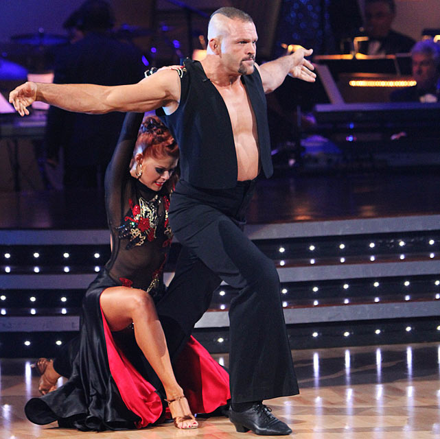 The UFC Hall of Fame champion finished in 11th place with dancing partner Anna Trebunskaya.