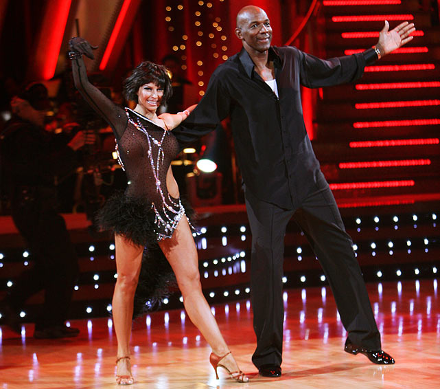 The retired NBA shooting guard finished in 8th place with dancing partner Elena Grinenko.