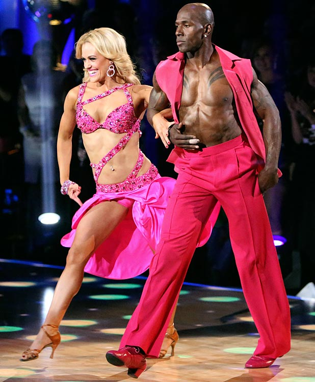 The NFL wide receiver won 1st place with dancing partner Peta Murgatroyd.