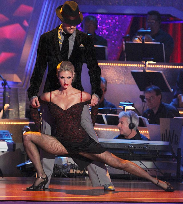 The ESPN reporter/sportscaster finished in 3rd place with dancing partner Maksim Chmerkovskiy.