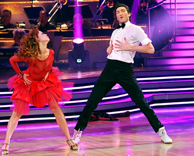 The Olympic champion figure skater finished in 2nd place with dancing partner Anna Trebunskaya.