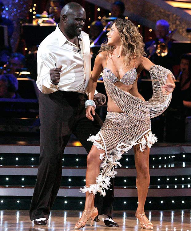 The retired NFL Hall of Fame linebacker finished in 7th place with dancing partner Edyta Sliwinska.