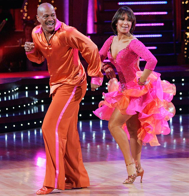 The Olympic champion sprinter finished in 5th place with dancing partner Cheryl Burke.