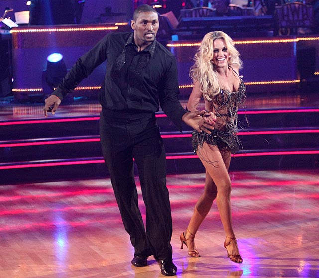The NBA small forward finished in last place with dancing partner Peta Murgatroyd.