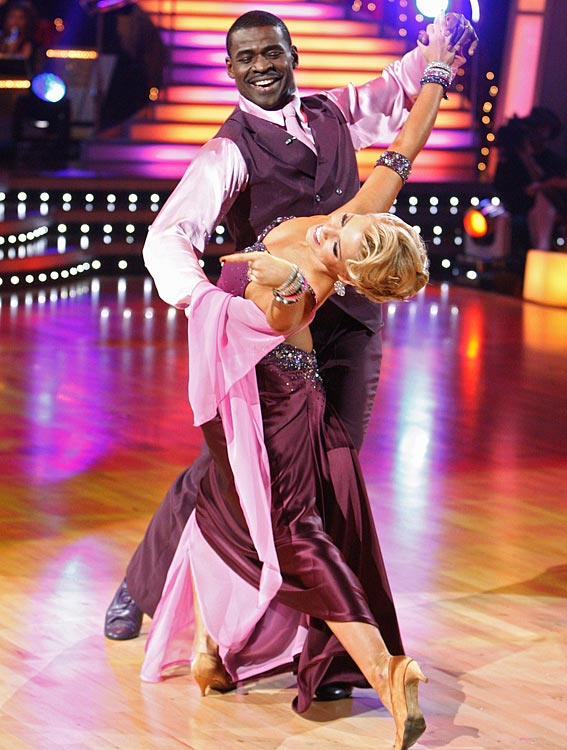 The retired NFL Hall of Fame wide receiver finished in 7th place with dancing partner Anna Demidova.