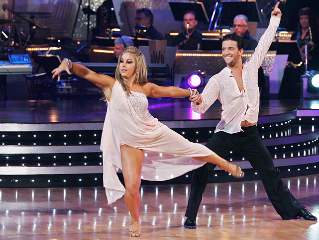 The Olympic champion gymnast won 1st place with dancing partner Mark Ballas (pictured) in Season 8 and finished in 2nd place with partner Derek Hough in Season 15's <italics>Dancing with the Stars: All-Stars.</italics>
