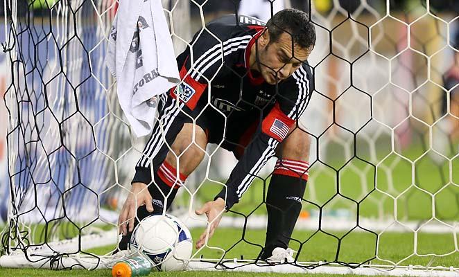 Hamdi Salihi scored six goals in 22 games for D.C. United.