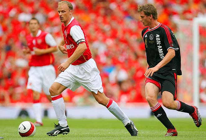 Dennis Bergkamp made more than 300 appearances with Arsenal from 1995 to 2006.