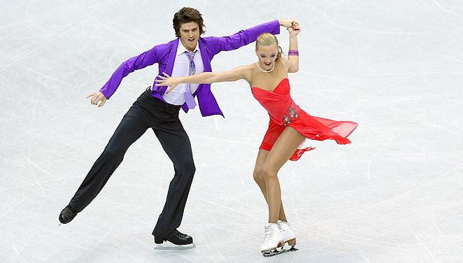 Alexandra Stepanova and Ivan Bukin are nearing a perfect ice dance season.