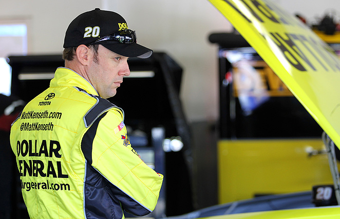 Matt Kenseth, along with teammate Kyle Busch, were both sidelined at the Daytona 500 with engine problems.