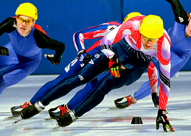 Former Olympian Andy Gabel has been accused of sexually abusing a female skater back when he was training for the Games.