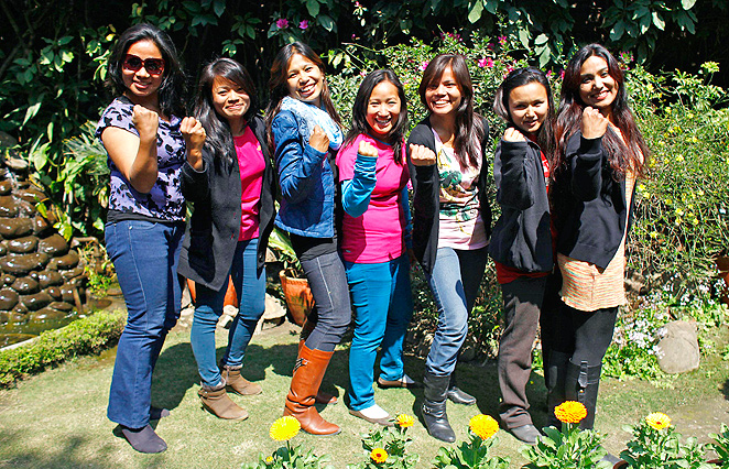 This group of Nepalese women are on a mission to climb the tallest mountain on each of the seven continents.