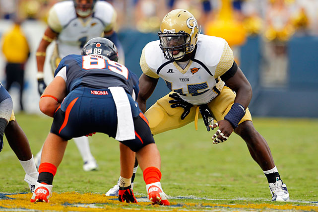 Attaochu is the ACC's leader among returning players in sacks, as he tallied 10 during the 2012 campaign. He peaked late last season with eight over a five-game span in November and early December, and he likely will emerge as Georgia Tech's pass-rushing leader under new defensive coordinator Ted Roof.