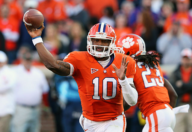 Boyd has thrived in his two seasons as Clemson's starter, throwing for a combined 7,724 yards and 69 touchdowns. He also rushed for 10 touchdowns in 2012 -- more than all but four ACC players. The reigning conference Player of the Year will have to continue his production without top target DeAndre Hopkins, who declared early for the NFL draft.
