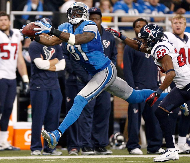 Megatron hit his first big payday in 2012 and it only escalates from there. Johnson reached an eight-year deal with the Detroit Lions after the 2011 season for $150.5 million. After five tremendous seasons for the Lions, including his 1,681-yard 2011 season, Johnson finally broke eight figures in salary in 2012. His base salary tops $18 million by 2019, the last year of the contract.