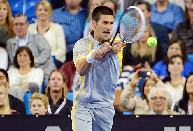 Novak Djokovic heads to the BNP Paribas Open at Indian Wells, Calif., as the top seed.