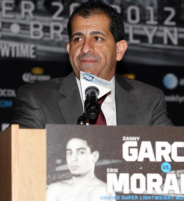 Espinoza, 43, has turned Showtime into a boxing force by leveraging his old position at Golden Boy Promotions, where he was lead counsel before taking over at the network in 2011. Since then he has poached Amir Khan, Danny Garcia and Victor Ortiz from HBO, and last month made his biggest heist, signing HBO's Floyd Mayweather Jr. to a six-fight deal. (Check out the web version of the magazine and subscribe to SI.)