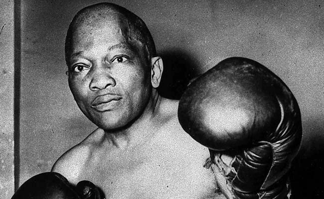 Jack Johnson was the first African-American world heavyweight champion, reigning from 1908-15.