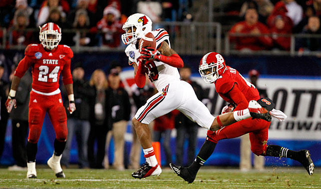The former Big East Rookie of the Year has finished in the top three in tackles at Louisville in each of his three seasons there. The strong safety has also broken up 17 passes and forced four fumbles over the past two seasons. That's pretty impressive for Smith -- particularly considering he was tabbed as a two-star recruit coming out of high school.