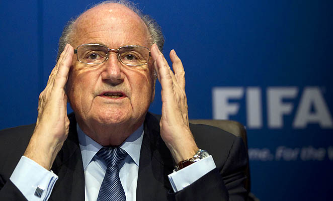 Sepp Blatter, who has run unopposed in the last two elections, has been the FIFA president since 1998.