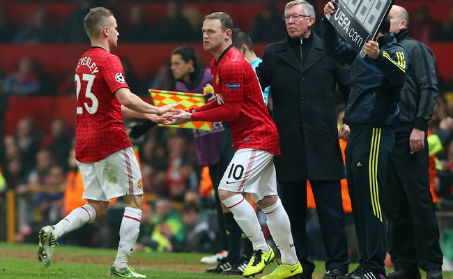 Wayne Rooney came on as a substitute against Real Madrid in the 73rd minute on Tuesday.